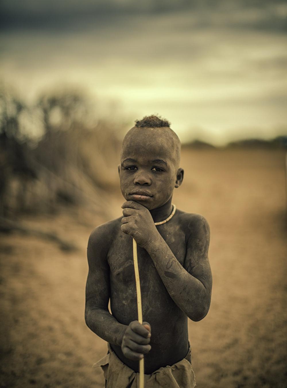 Proud Himba Boy
