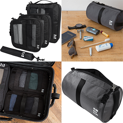 ZeroGrid Packing Cubes & Toiletry Bag. Source: zerogrid.com