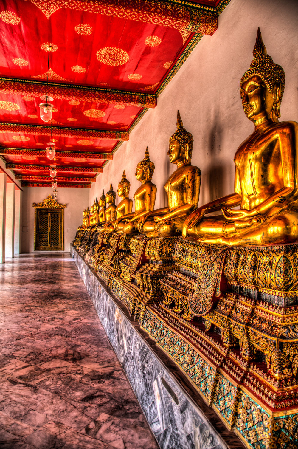 The Hall of Buddhas
