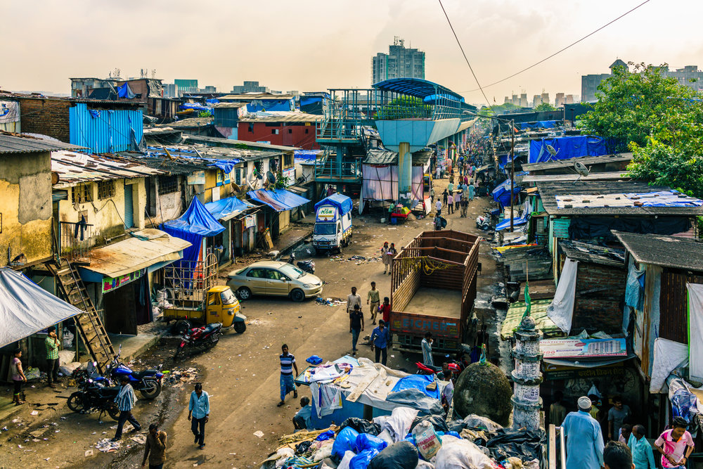 First Glimpse Of Dharavi