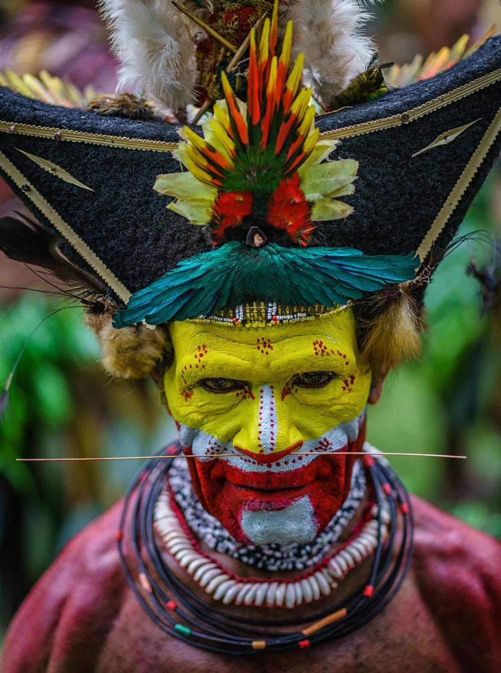 The Huli Wigman Of Papua New Guinea