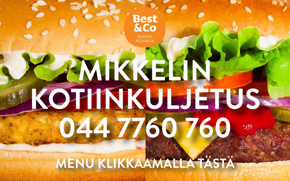 Best&Co Mikkeli kotiinkuljetus