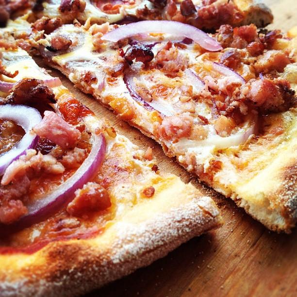 Best Next Day pizza, tasta lahtee aamu kayntiin villimmankin illan jalkeen.