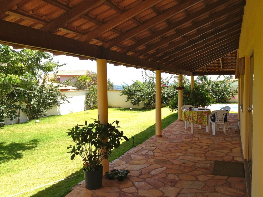 Casa de Luz - lower veranda