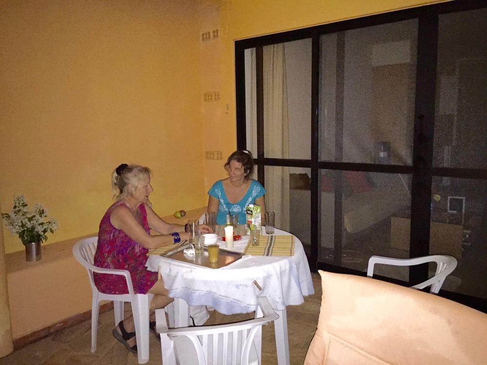 Cozy dinner at Alegria