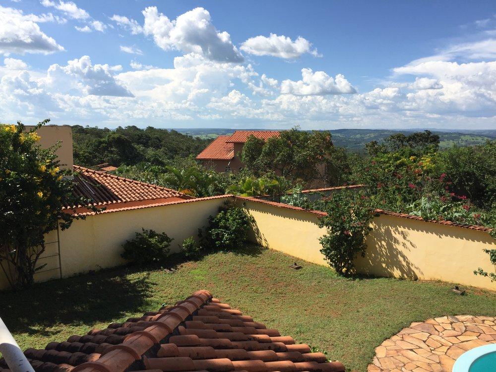 Casa de Luz -- von der oberen Terrasse