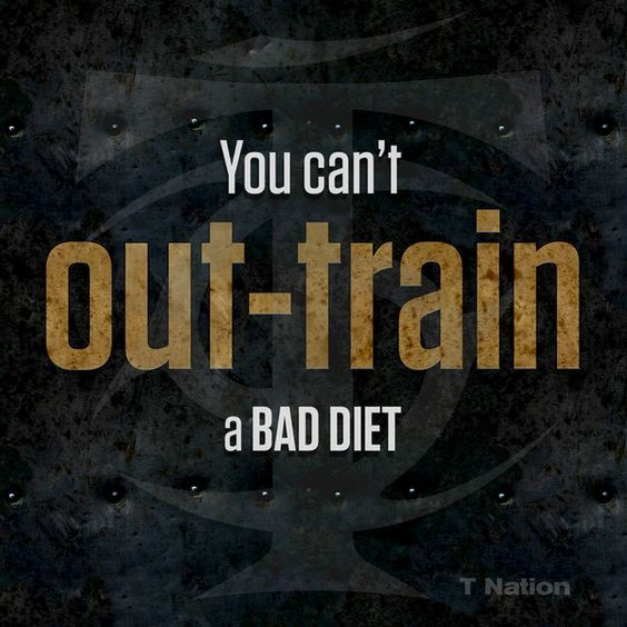 you can't out train a bad diet.jpg