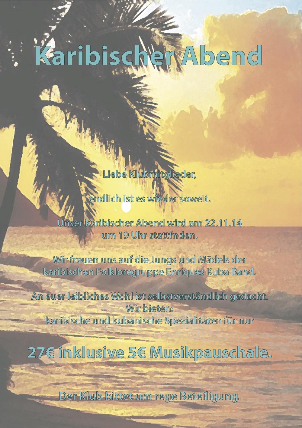 Karibischer Abend 2014