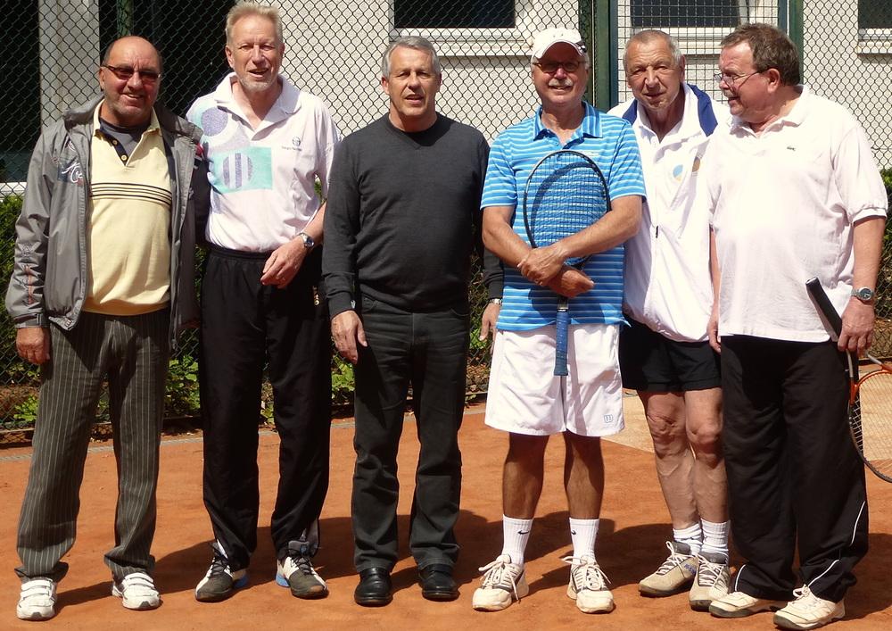 Herren 60 2015: Klaus, Winfried, Jörg, Detlef, Werner, Michael, Vitaly fehlt