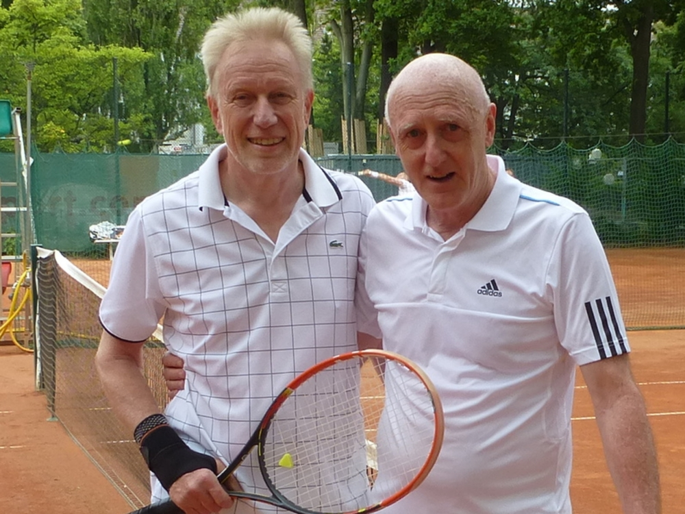 Herren 60+: Dr. Winfried Turowski - Maximilian Pöppl