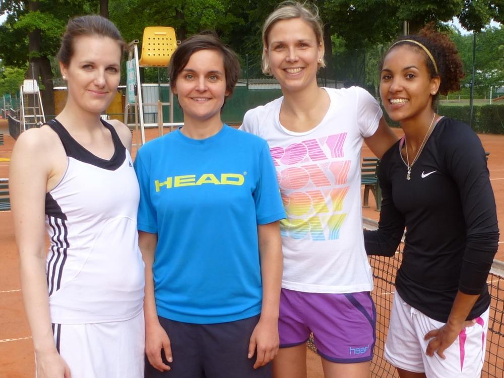 Damen Doppel: Stephanie Prix / Sandra Karner - Kerstin Straka / Jasmin Wray
