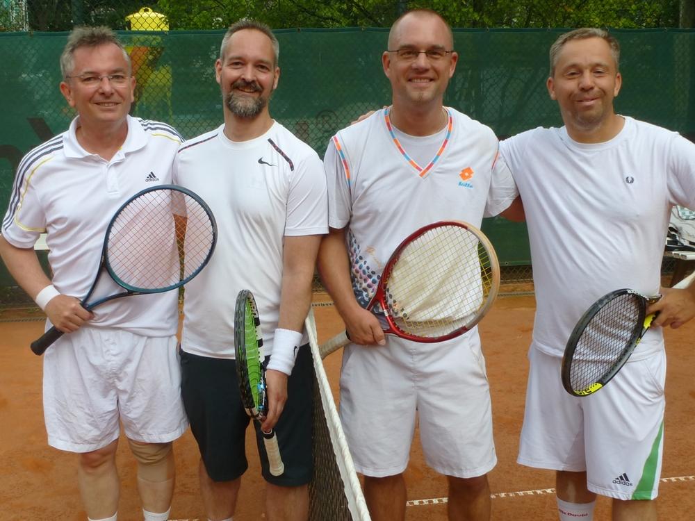 Herren-Doppel: Siegfried Bocionek / Ralf Gensing - Oliver Lewke / Ulf Lindberg