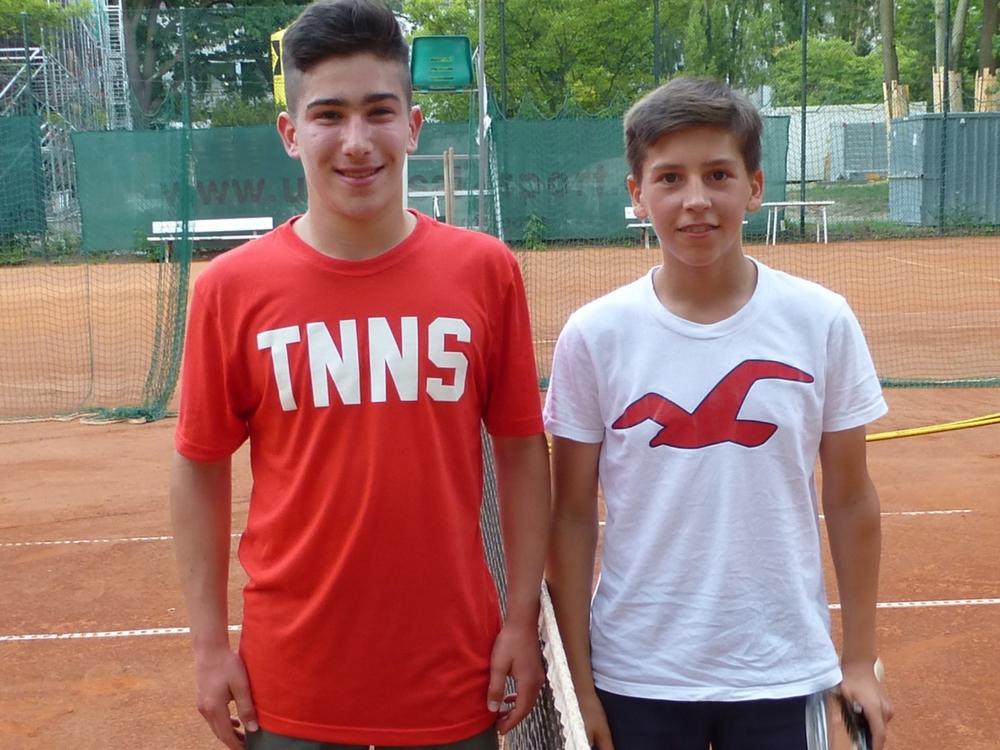 Junioren U18m: Mark Kolodizner - Antonio Sisko