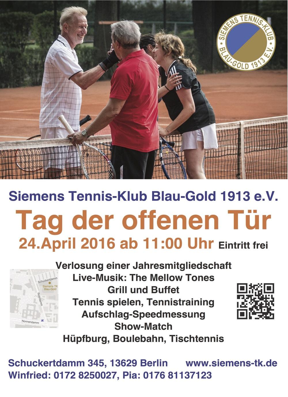 2016 Tag der offen Tür im Siemens Tennis - Klub Berlin
