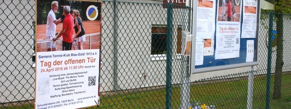 SIEMENS TENNIS - KLUB Berlin: TAG DER OFFENEN TÜR 2016