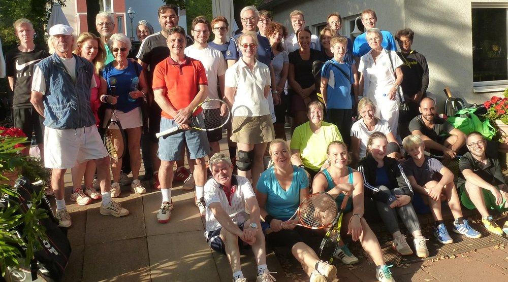 Saisonabschlussturnier 2016 im Siemens Tennis- Klub Berlin