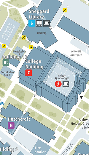 Middlesex University Campus Maps