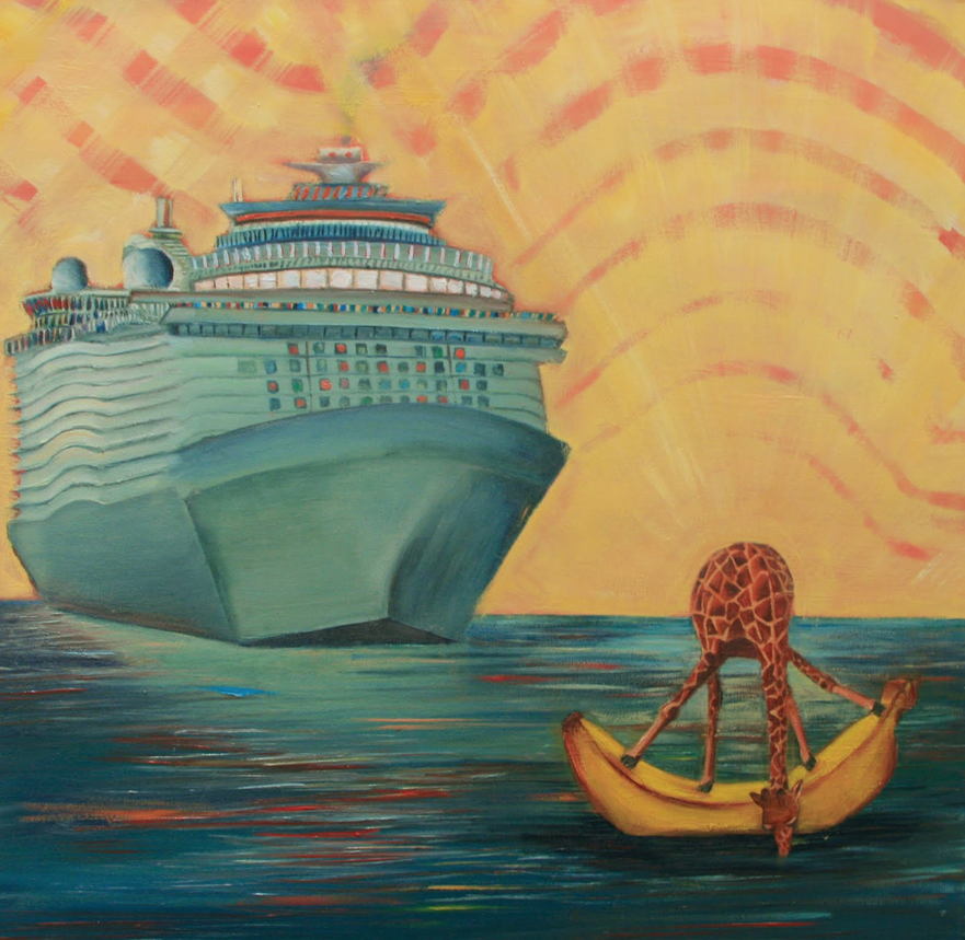 Banana Boat; 2011; oil on canvas