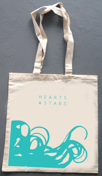 All natural canvas beach tote with pink or teal printing featuring the new H&S brand and logo.  A must for every stylish beachgoer.