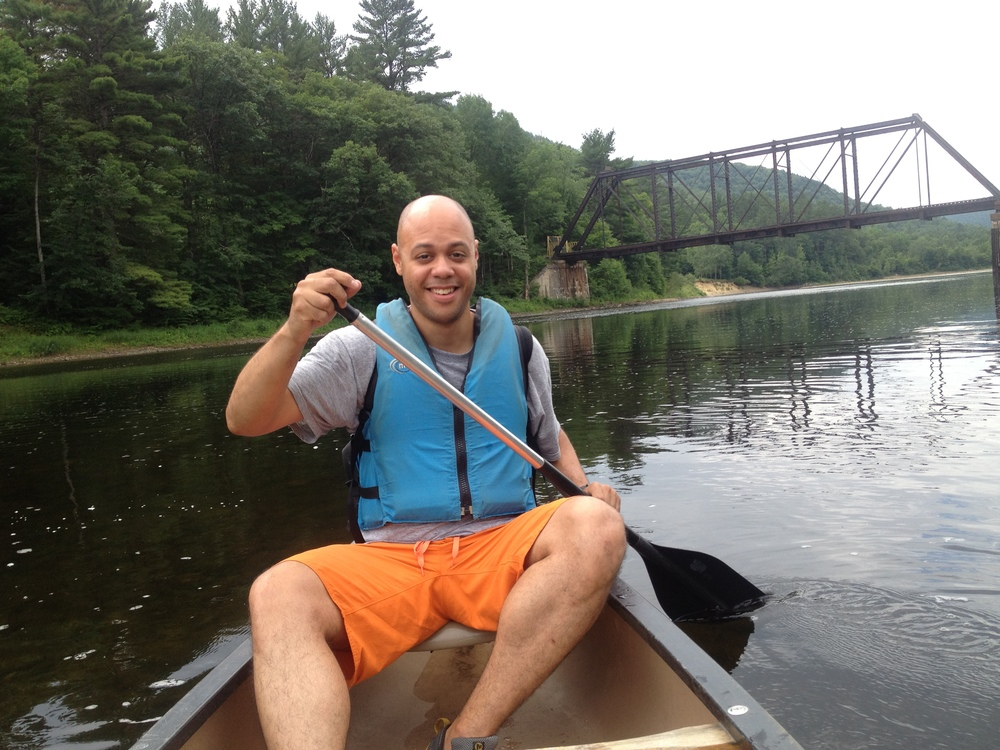 Canoeing on the Schroon