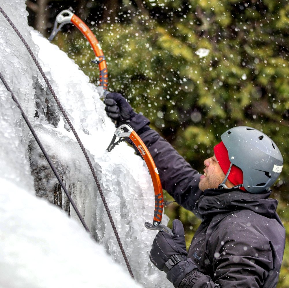 ICE CLIMBING - OVERVIEWIce climbing is not as dangerous as it looks. All your gear can be rented from your guide, but here's a pro-tip: schedule your trips during