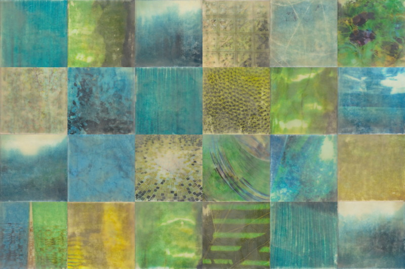 Breathe by Erin Keane : photography with encaustic beeswax : 24 x 36 inches