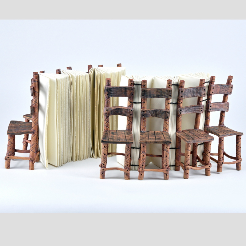 Recollection : Sue Grier and Erin Keane : sculptural books