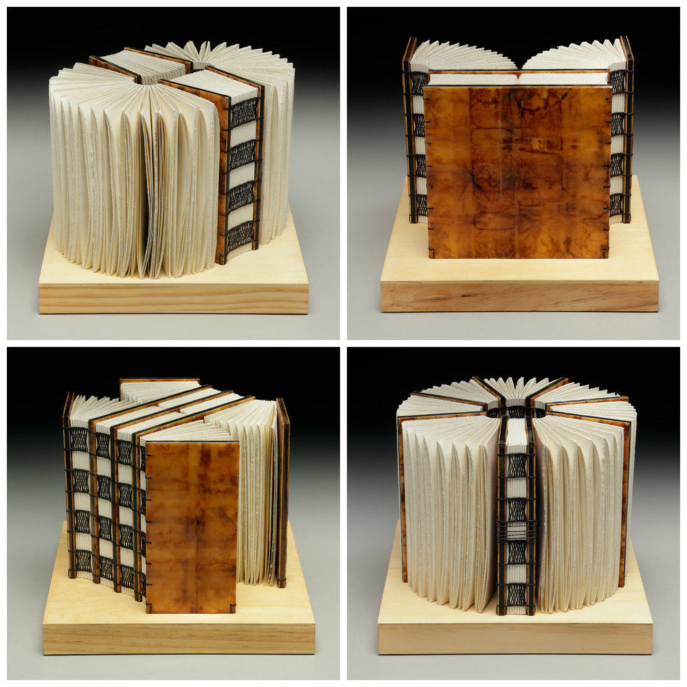 Intervals of Silence by Erin Keane : Navigating Our Humanity : sculptural book