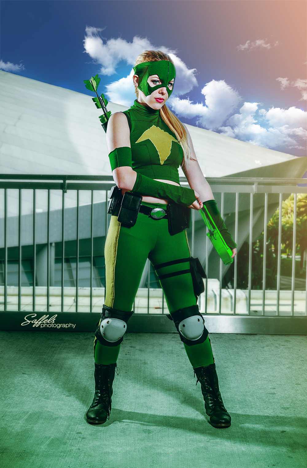 Courtoon as Artemis from Young Justice!