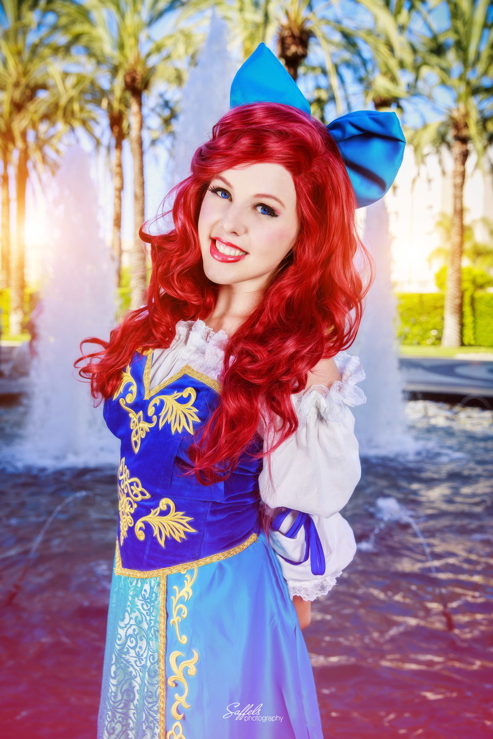 Courtoon as Ariel