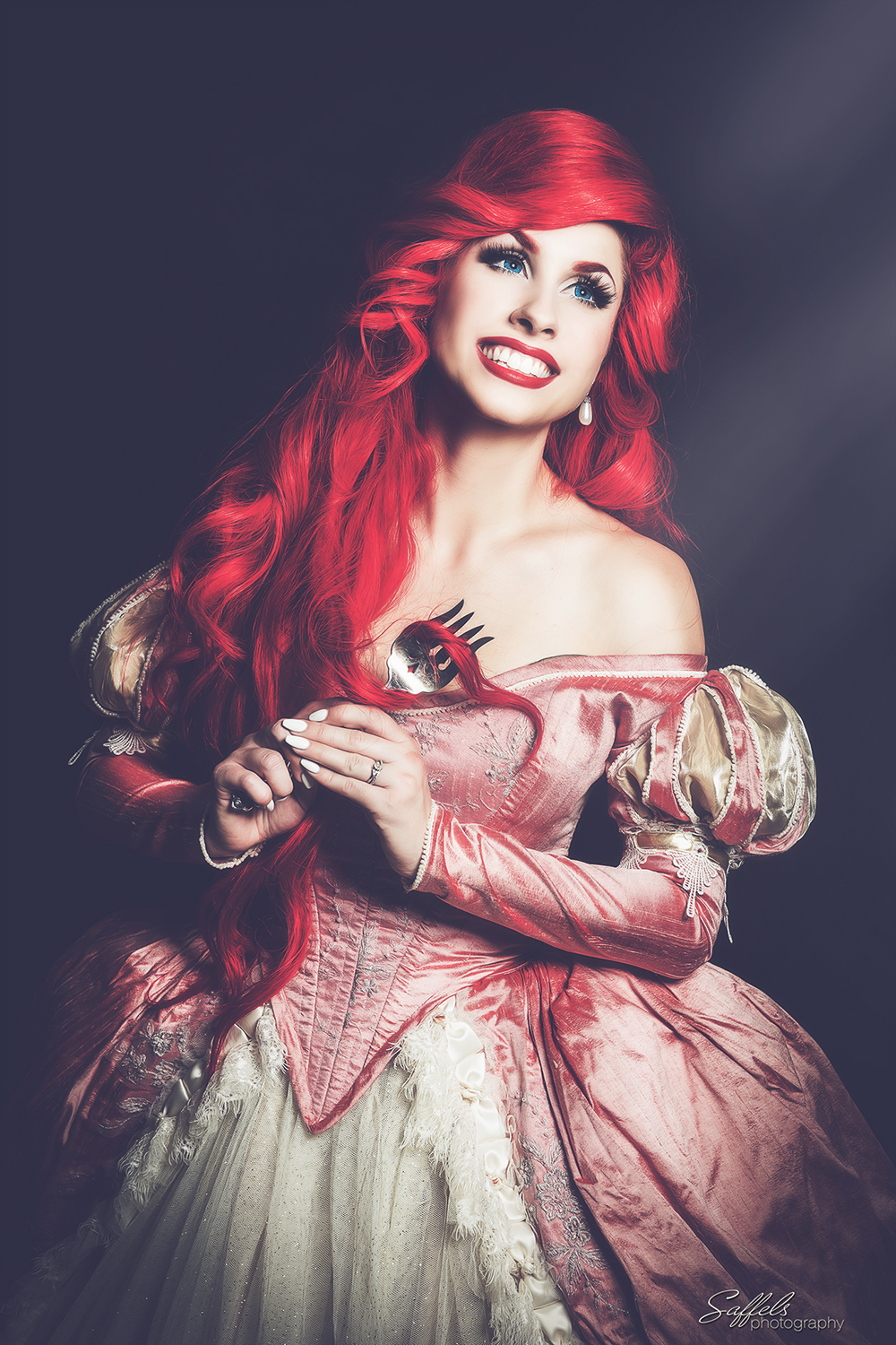 Ariel, The Little Mermaid - Portrayed by  Traci Hines