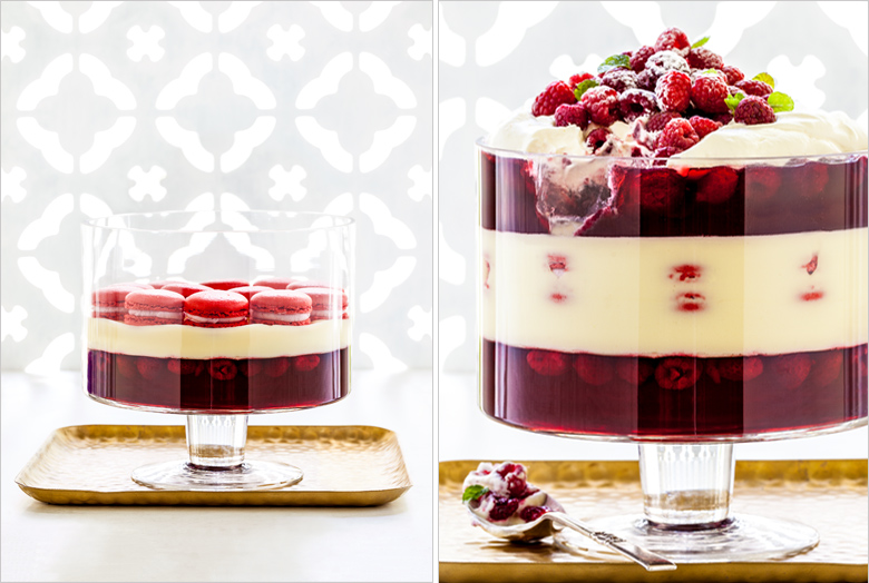 The Food Union - Christmas Raspberry & White Chocolate Trfile wi