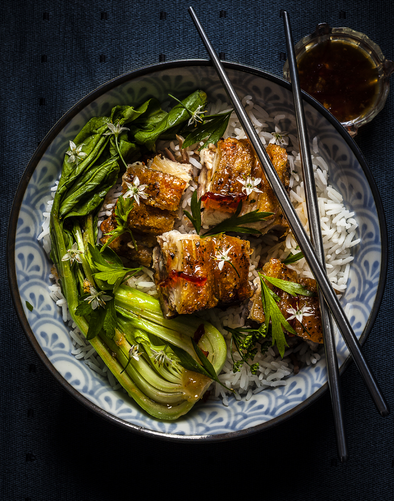 The Food Union - Asian Pork Belly with Greens