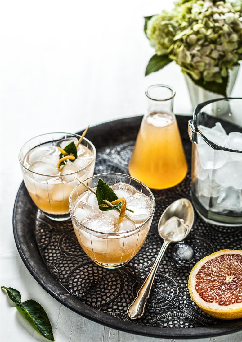 The Food Union - Grapefruit & Kaffir Lime Cocktail