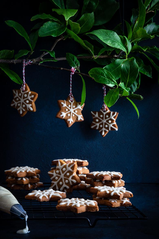TFU - Christmas Gingerbread Stars