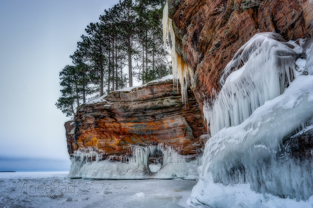 Ice Caves at the Apostle Islands National Lakeshore on ...