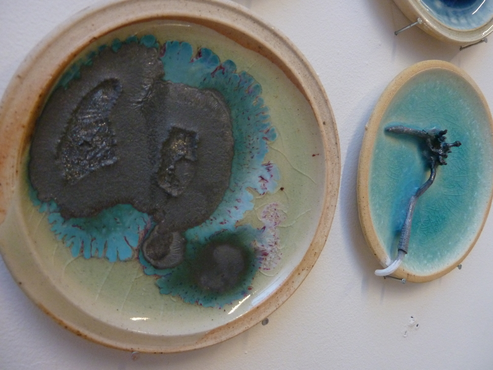 various coloring oxides and glaze recipes experiments include glaze ...