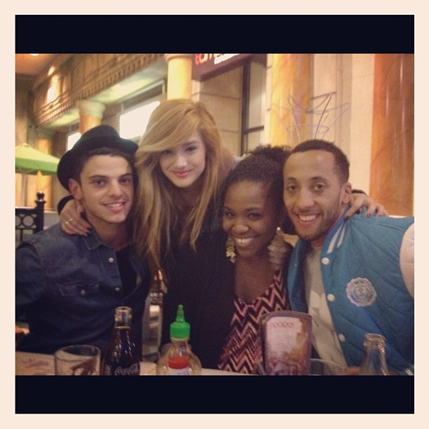 out in the UK with Nick, Chachi, and Josh!