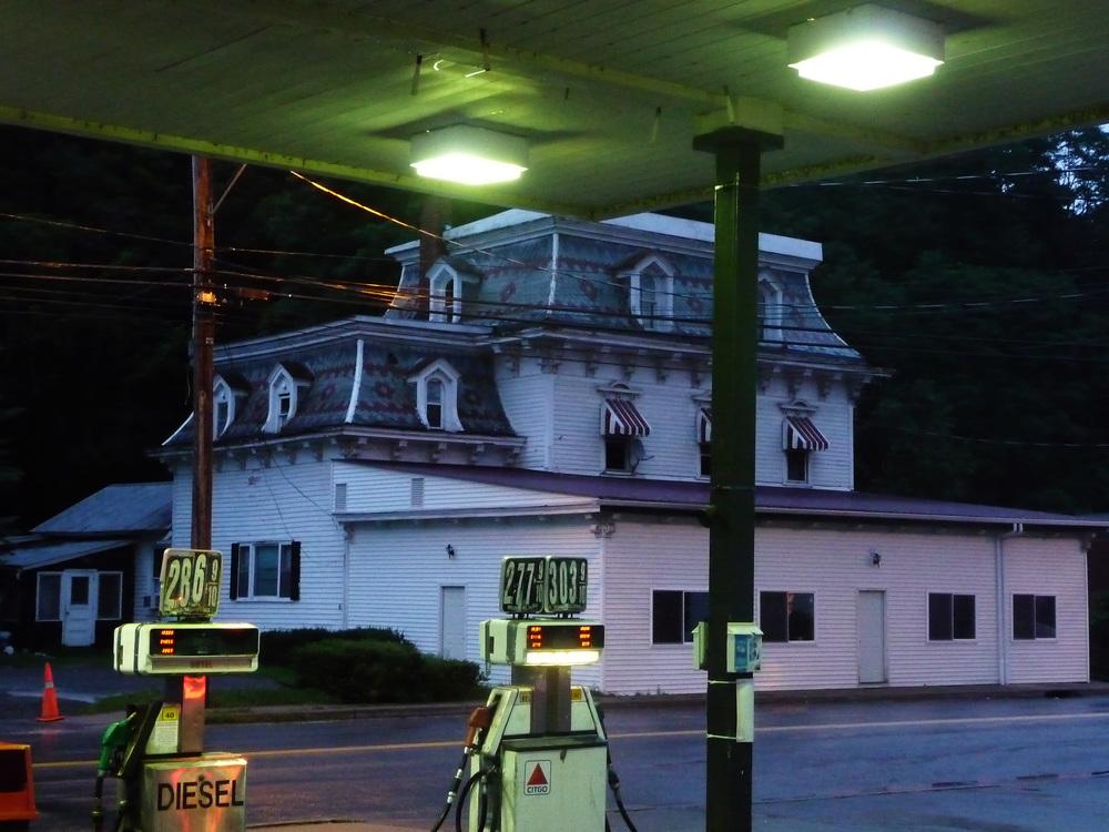 Town Scene - Upstate New York