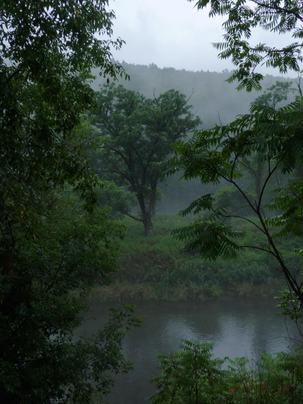 river scene - upstate New York