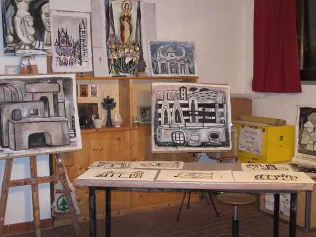 Cortona, Italy Studio
