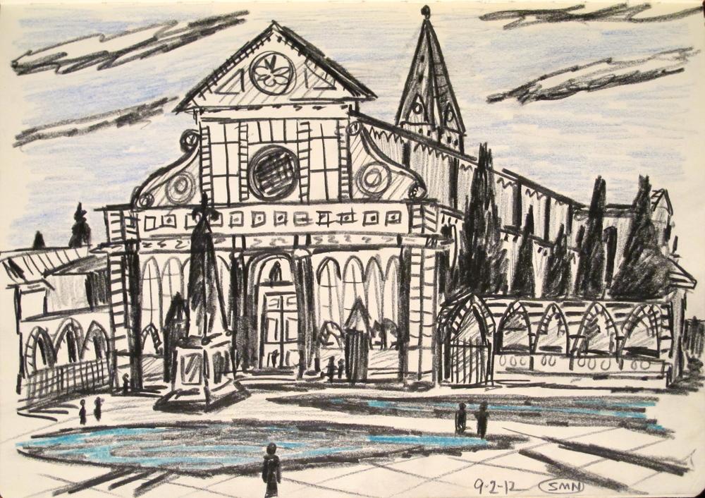 Santa Maria Novella, Firenze. $50