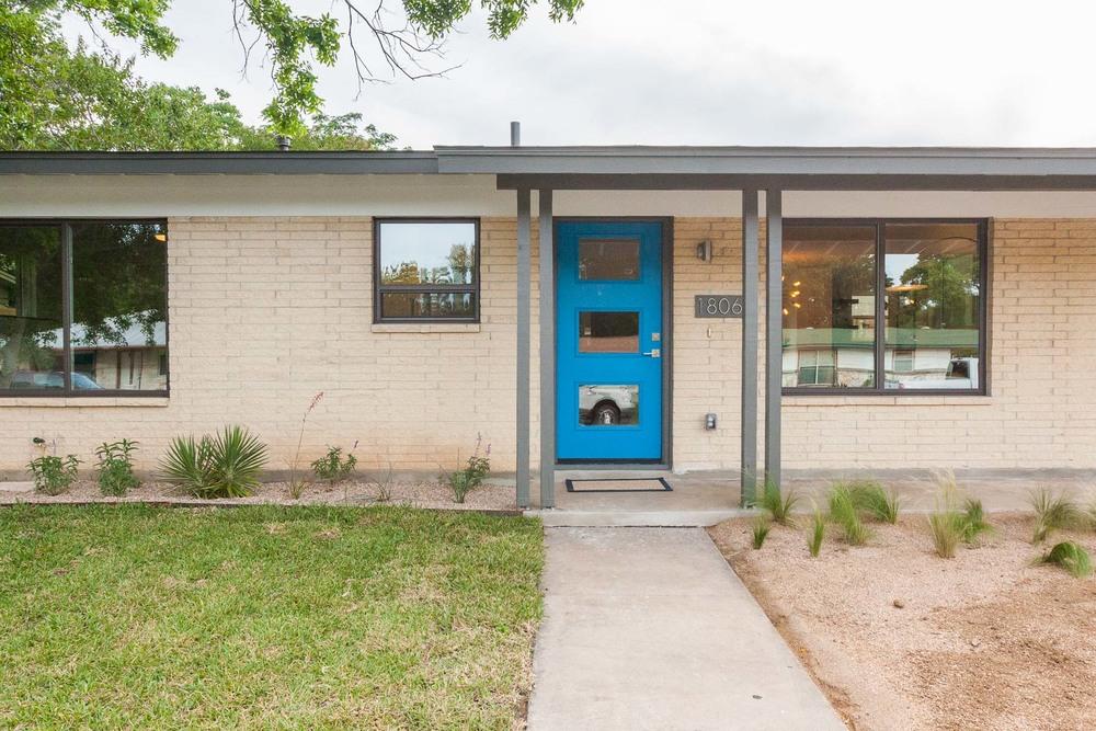 Mid Century Ranch east austin mid-century ranch reinvention — making modern home