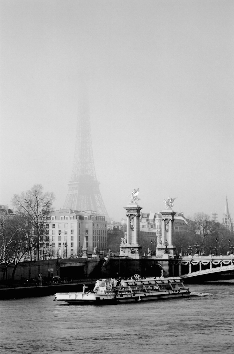 Cours de la Reine | Paris in Black and White | Bill McClave