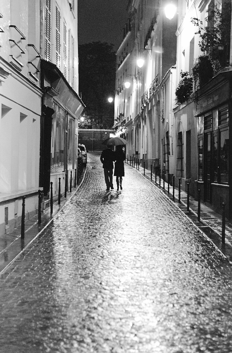 Rue Servandoni | Paris in Black and White | Bill McClave