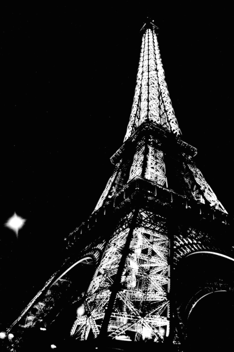 La Tour Eiffel | Paris in Black and White | Bill McClave