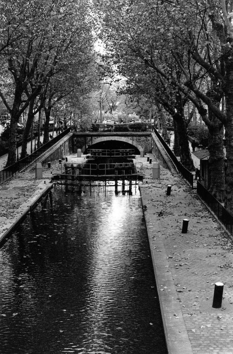 Quai de Jemmapes | Paris in Black and White | Bill McClave
