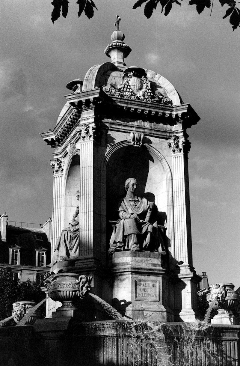 Place Saint-Sulpice | Paris in Black and White | Bill McClave