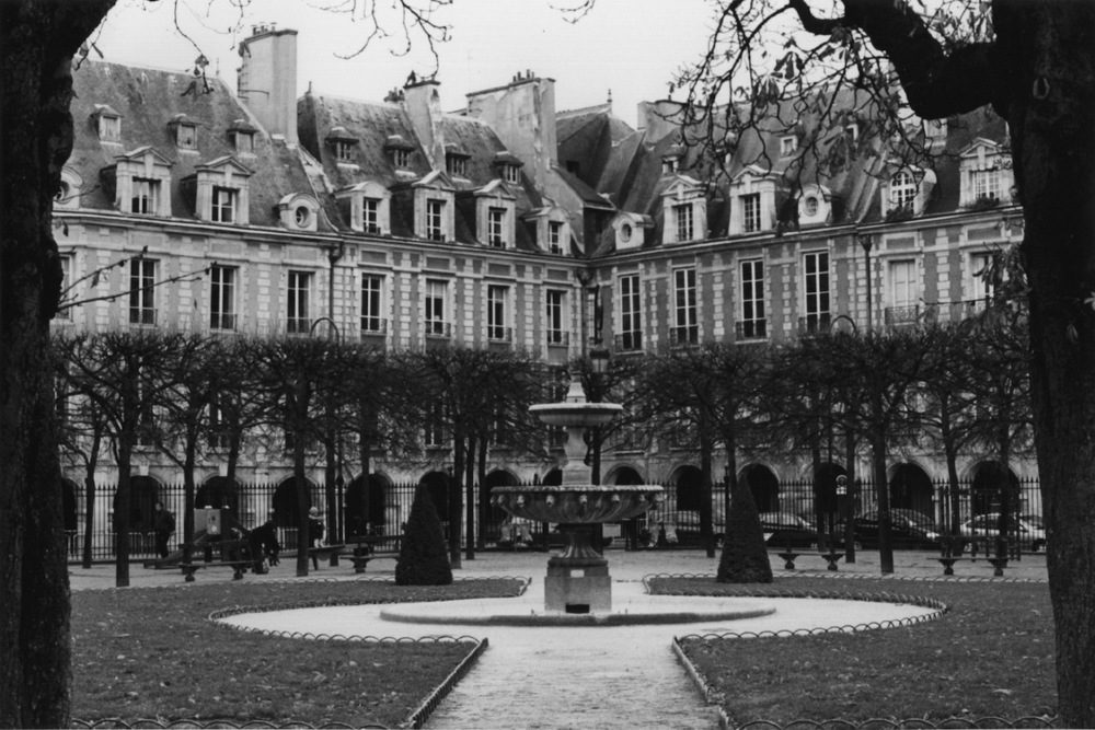 Place des Vosges | Paris in Black and White | Bill McClave
