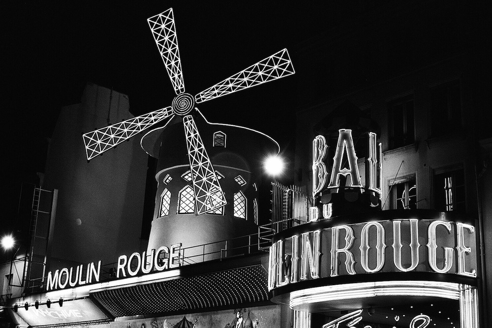 Boulevard de Clichy | Paris in Black and White | Bill McClave